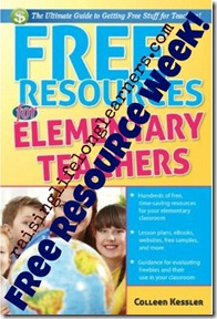 Free Resources for Elementary Teachers Free Week