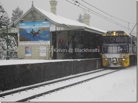 Blackheath snow 13