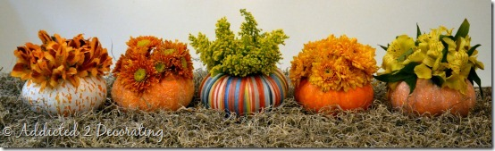 miniature pumpkin vases 2