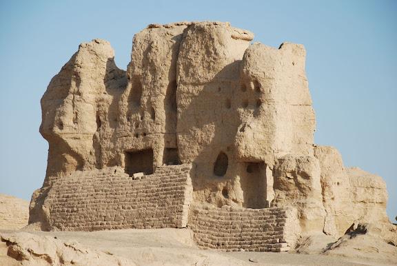 Turfan - Ruines de Jiaohe 1