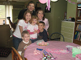 At Mollie's birthday party