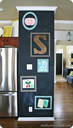 magnetic kitchen chalkboard