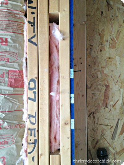 how to insulate a wall