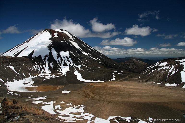 Mount Ngauruhoe und der südliche Krater