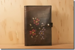 beadwork journal antique black