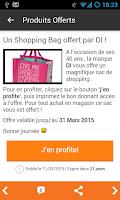 Screenshot of Échantillons gratuits Belgique