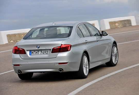 2014 BMW 5 series rear