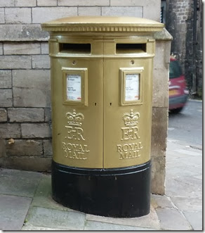 ed mckeever gold post box
