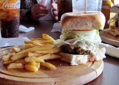 Gigantic burger!!