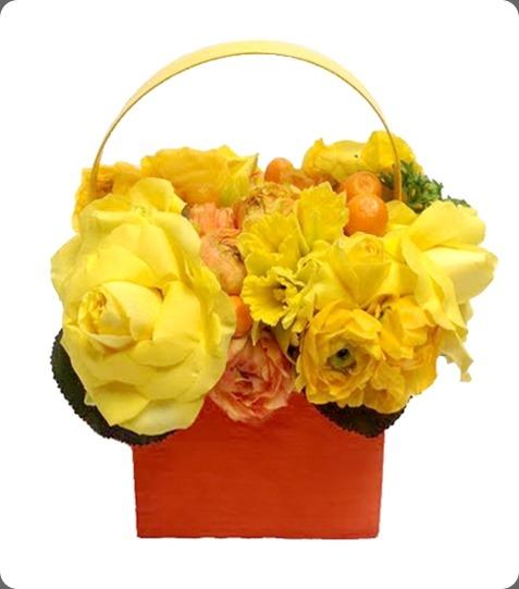 PurseArrangementYellow_LowRes floral art