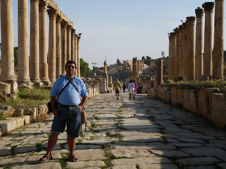 Strada principala din Jerash - Cardo