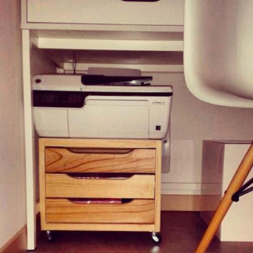 Il blog di el mobiletto stampante per workspace - Porta stampante ikea ...