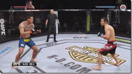 EA SPORTS UFC: Gameplay simula a luta de Jose Aldo versus Anthony Pettis