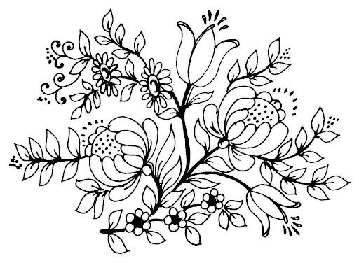 riscos flores 30 jpg flores riscos para pintar bordar etc