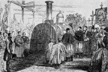 chemin de fer 1847