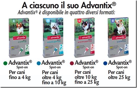 advantix 4 confezioni