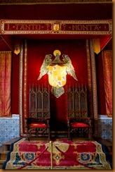 Segovia, alcazar, thrones