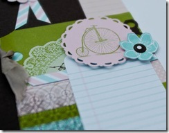 july scrapbook detail