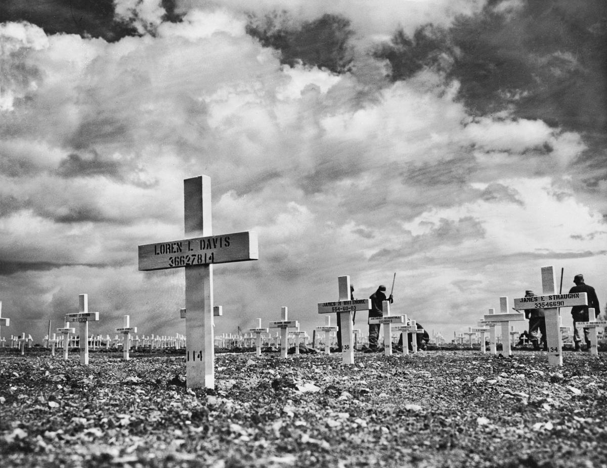American cemetery near Omaha Beach