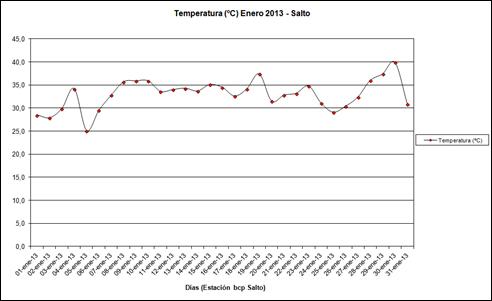 Temperatura (Enero 2013)