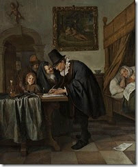 494px-Jan_Havicksz._Steen_-_The_Doctor's_Visit_-_Google_Art_Project