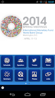 Screenshot of IMF/World Bank Annual Meetings