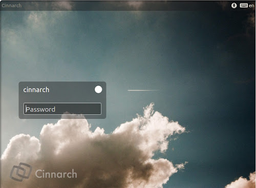 Cinnarch 20120723 - lightdm