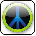 Peace doo-dad icon