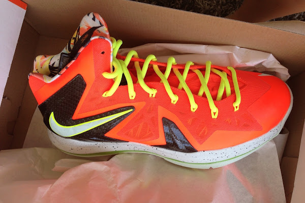 Nike LeBron X PS Elite 8220Infrared  Volt8221 8211 Release Date