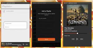 Music App 0.3.2 su Ubuntu 13.10