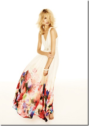 Watercolour maxi