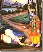 Lord Rama with Ahalya