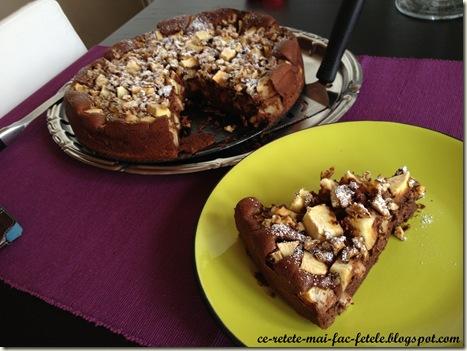 Tarta de ciocolata cu mere - pofta buna