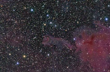 glóbulo cometário CG4