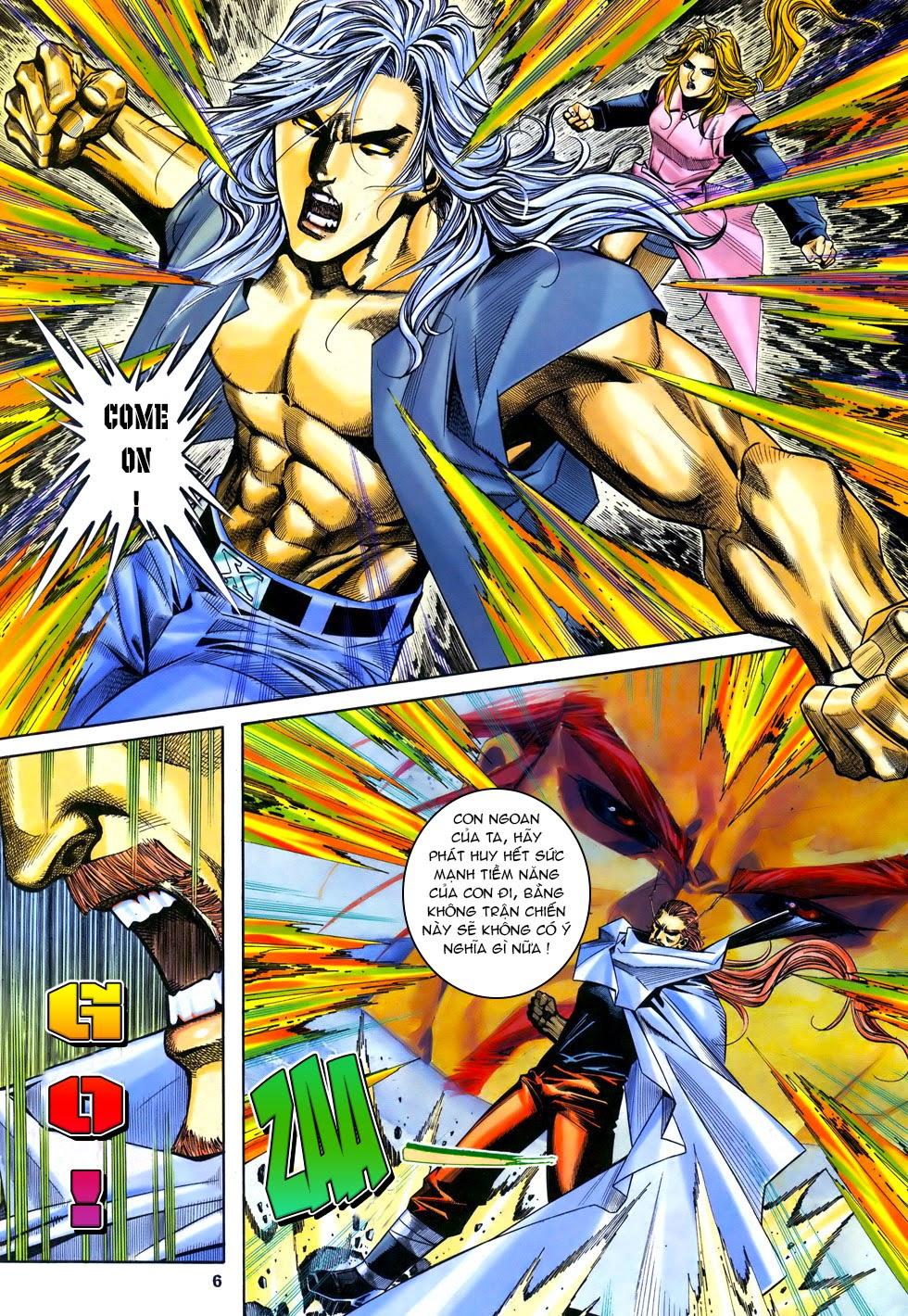 X Bạo Tộc chap 67 - Trang 6
