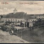 nr 6 Staszów Gubernia Radomska. Rynek (Ratusz z XVI wieku).jpg