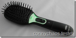 Braun Satin Hair Brush 7 angeschaltet