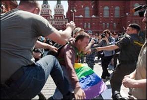 rússia homofobia
