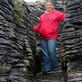 Columns of Pancake Rocks - Punakaiki, New Zealand