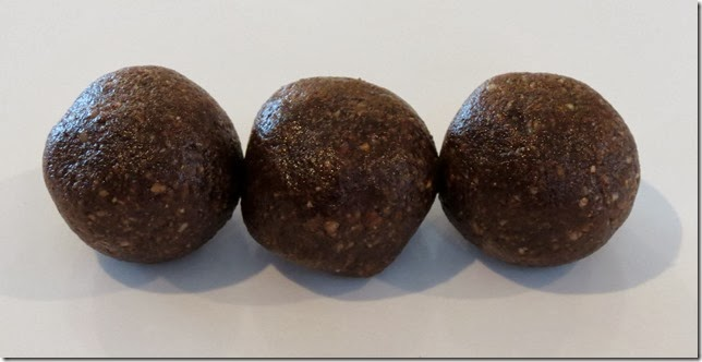 Raw Cacao Hazelnut Bombs 2-5-14
