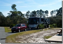 Cedar Key RV Resort site 76 (Dan and Tricia's)