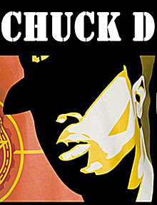 Yeah, Chuck D from Public Enemy!!