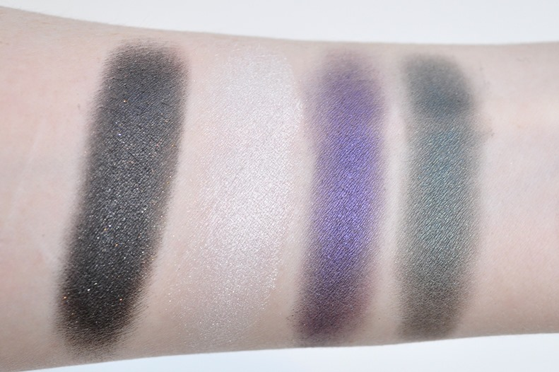 sugarpill cold chemistry eyeshadow palette review swatches