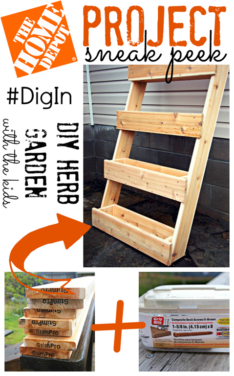 DIY Herb Garden sneak peek #digin