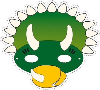 Маска динозавры своими руками 88