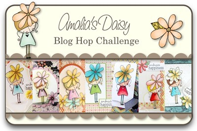 Amalia's Daisy Blog Hop Challenge