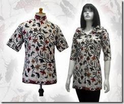 baju batik lebaran