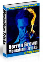 Cover of Derren Brown's Book Mentalism Tricks