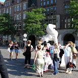 dam square in Amsterdam, Noord Holland, Netherlands