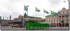20130915_144915 (1) Kung Carl XVI Gustaf 40 årsjubileum. UD och Riksdagshuset. Med amorism